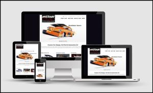 Miernik Designs website in responsive design