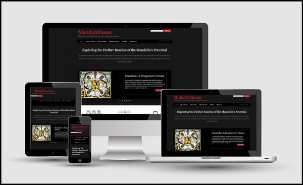 MandoSimean Responsive Website