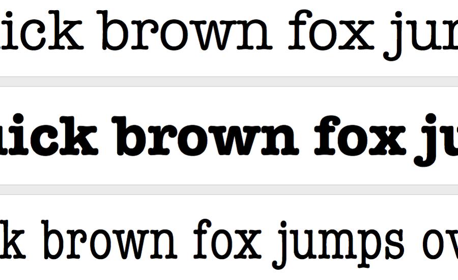 font-brownfox