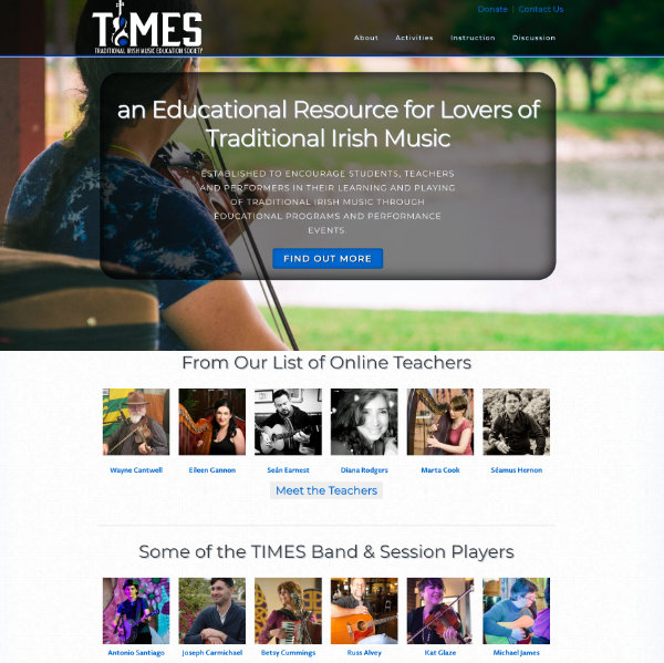 Traditional Irish Music Society