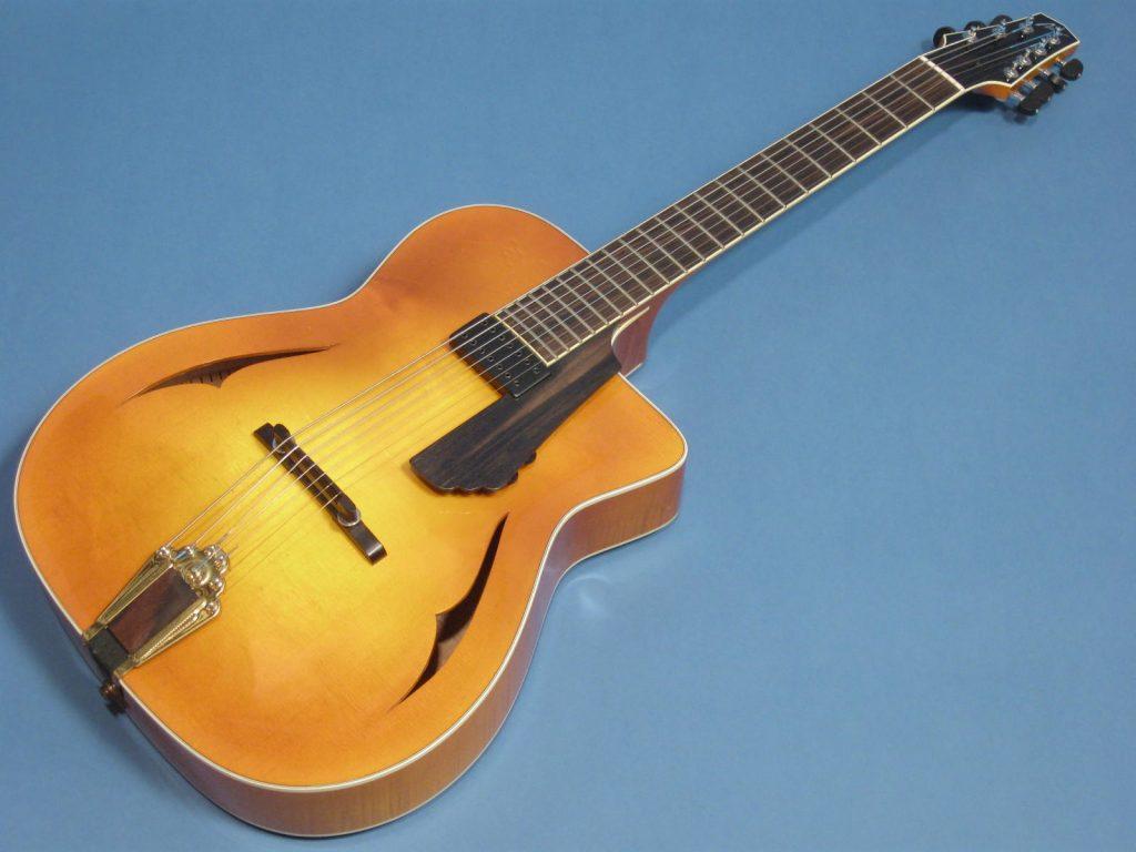 Paul Lestock Arrow Selmer-Style 7-string guitar